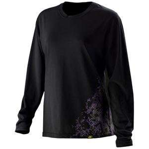 Klim Womens Lady Tech Long Sleeve T Shirt   Large/Black