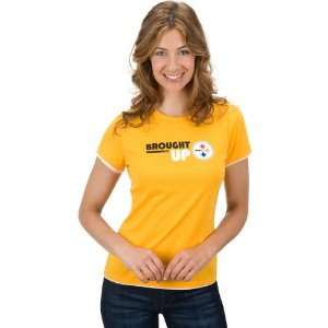 Reebok Pittsburgh Steelers Womens Brought Up T Shirt