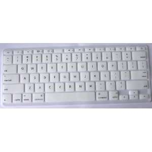 Koolshop WHITE Keyboard Silicone Cover Skin for MacBook