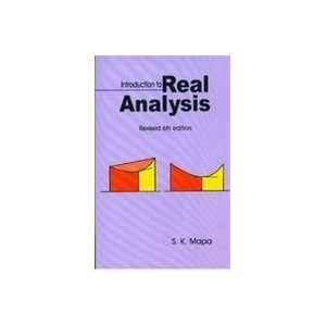 Analysis (Revised Sixth Edition) (9788187169024) S.K. Mapa Books