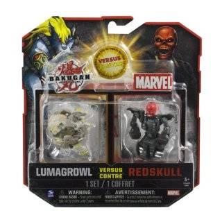 Bakugan vs. Marvel Action Figures 2 Pack   Helios vs. Iron