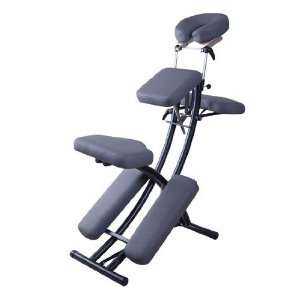 Gray 2 Portable Folding Massage Chair Tattoo Spa w