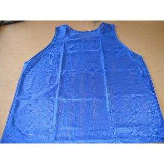 High Quality Scrimmage Training Vests Pinnies Soccer ~ Youth Blue