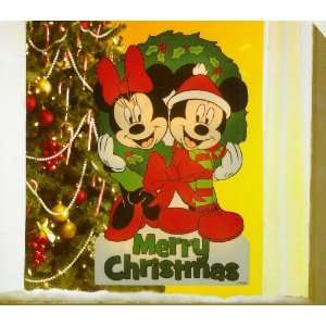Disney Mickey & Minnie Mouse Lighted Window Decor