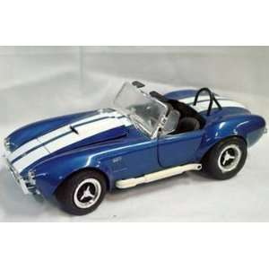 Muscle Shelby Cobra 427 S/C,blue 1/18 Scale Diecast Car: Toys & Games