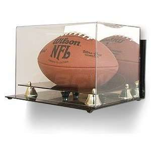 Deluxe Acrylic Wall Mount Full Size Football Display Case