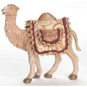 Camel with Saddle Blanket Christmas Nativity Figure Home & Kitchen