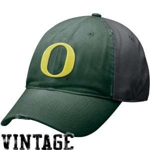 Nike Oregon Ducks Green Charcoal Heritage 86 Mesh Swoosh