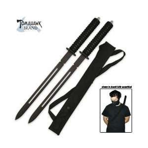 Twin Ninja Sword Set