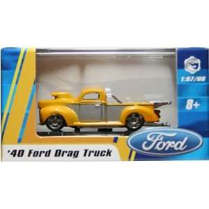 1:87 / HO SCALE 40 FORD DRAG TRUCK (YELLOW) Hot Wheels Vehicle