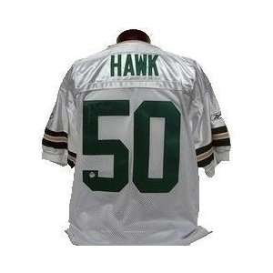 Autographed Green Bay Packers White Away Jersey
