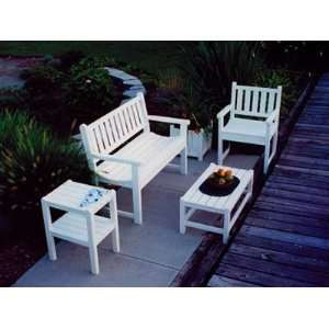 Garden Recycled Plastic Patio Lounge Set Patio, Lawn & Garden