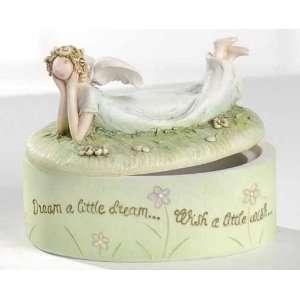 Blossoms Dream Angel Keepsake Boxes 3.75