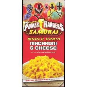 POWER RANGERS Samurai Whole Grain Macaroni & Cheese 5.5 OZ Box
