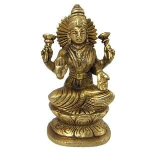 Laxmi Statue Sculpture Religious Gifts: Home & Kitchen