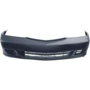 Honda Odyssey Primed Black Replacement Front Bumper Cover Automotive