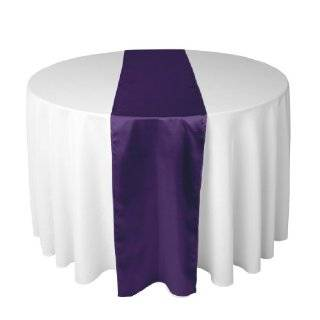 14 x 108 Inch Satin Table Runner Purple