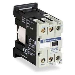 SCHNEIDER ELECTRIC CA2SK11G7 Relay,IEC,120 Vac,10 A