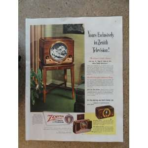 40s full page print ad.(105 sq. in. big B the giant circle screen