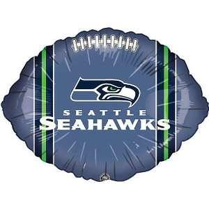 Classic Balloon Seattle Seahawks Football Balloon  10 Pack