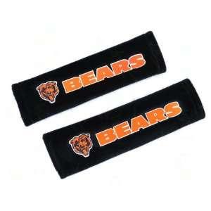 Universal Fit Foam Seat Belt Shoulder Pads   NFL Bears Automotive