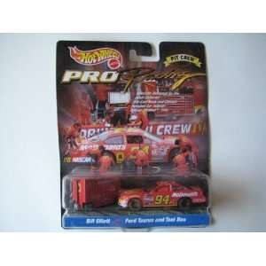 Hot Wheels Pro Racing Pit Crew Collector Edition Nascar