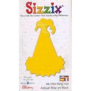Sizzix Originals PARTY HAT YELLOW MEDIUM DIE RETIRED Home