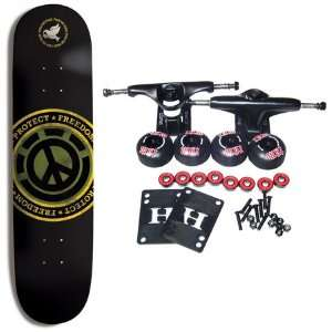 ELEMENT SKATEBOARDS Complete Skateboard PROTECT FREEDOM 7.62