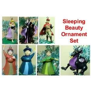 Disney Sleeping Beauty 7 Piece Holiday Christmas Tree