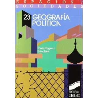 Geografia Politica (Espacios y sociedades) (Spanish