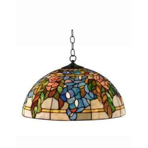 Tiffany Style Stained Glass Hanging Pendant Lamp