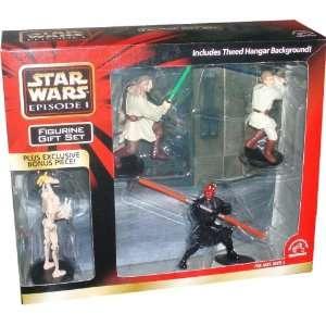 Star Wars Episode 1 PVC Figurine Set With Bonus Figure  Toys & Games
