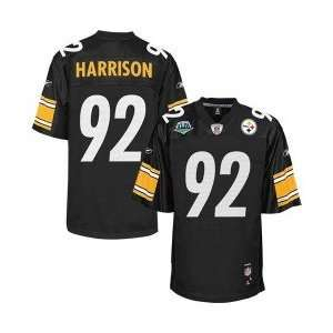 Reebok Pittsburgh Steelers #92 James Harrison Super Bowl XLIII