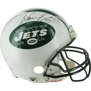 New York Jets Proline Helmet  Steiner Hologram Sports Collectibles