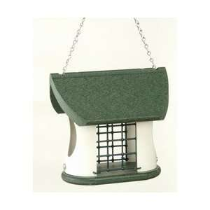 Vari Crafts Recycled Plastic Suet Feeder 2 Cakes: Pet Supplies