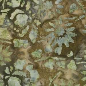 Moda Sweet Sixteen Batiks Moon Stone Green Quilt Cotton Fabric By the