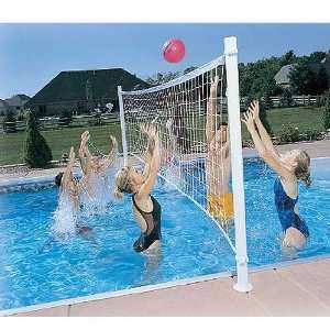 Dunnrite ProVolly Swimming Pool Volleyball Set  Toys & Games