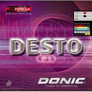 DONIC Desto F1 Table Tennis Rubber