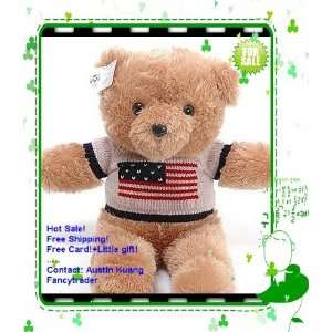 teddy bear american princess teddy bear in sweater stuffed teddy bear