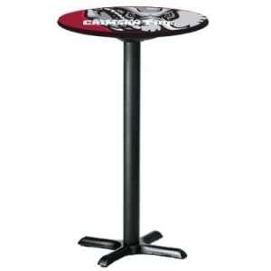 Alabama Crimson Tide   College Laminated Pub Table w/black trim