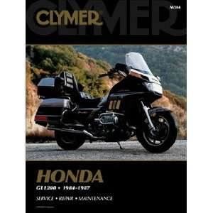 Honda GL1200 Gold Wing 84 87 Clymer Repair Manual Automotive