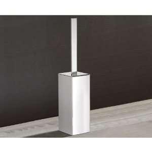 13 Square Polished Chrome Toilet Brush Holder 5433 13