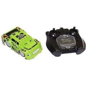 Air Hogs R/C Zero Gravity Micro Car   Green SUV Toys & Games