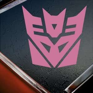 TRANSFORMERS Pink Decal Megatron AUTOBOT Window Pink
