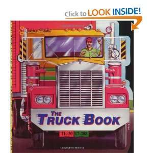 The Truck Book (A Golden Super Shape Book) (0033500100512