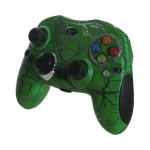 iGlow Wireless Controller for Xbox   Green Video Games
