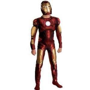 Iron Man Movie Classic Muscle   Size Child L(10   12) Toys & Games