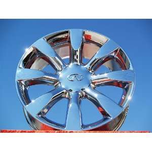 Sport/FX45 Set of 4 genuine factory 20inch chrome wheels Automotive