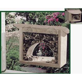 Window Bird Feeder, Classic Wood Kitchen & Dining
