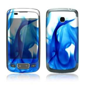 Blue Flame Design Decorative Skin Cover Decal Sticker for LG Phoenix